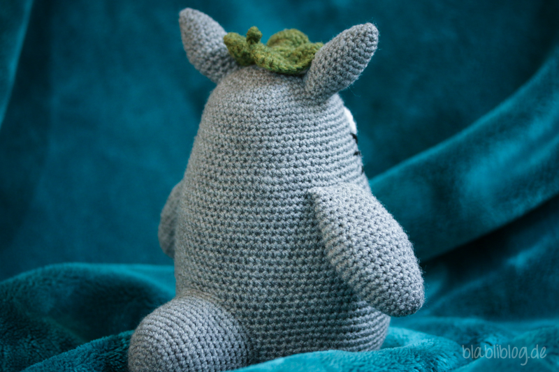 Ravelry: Grey Totoro Amigurumi pattern by Lucy Collin | 533x800